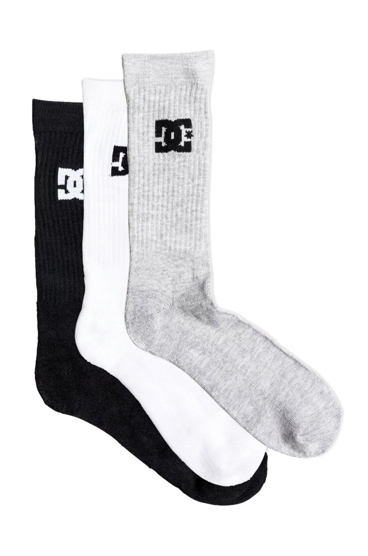 DC Shoes Socks SPP DC CREW 3PK Assorted