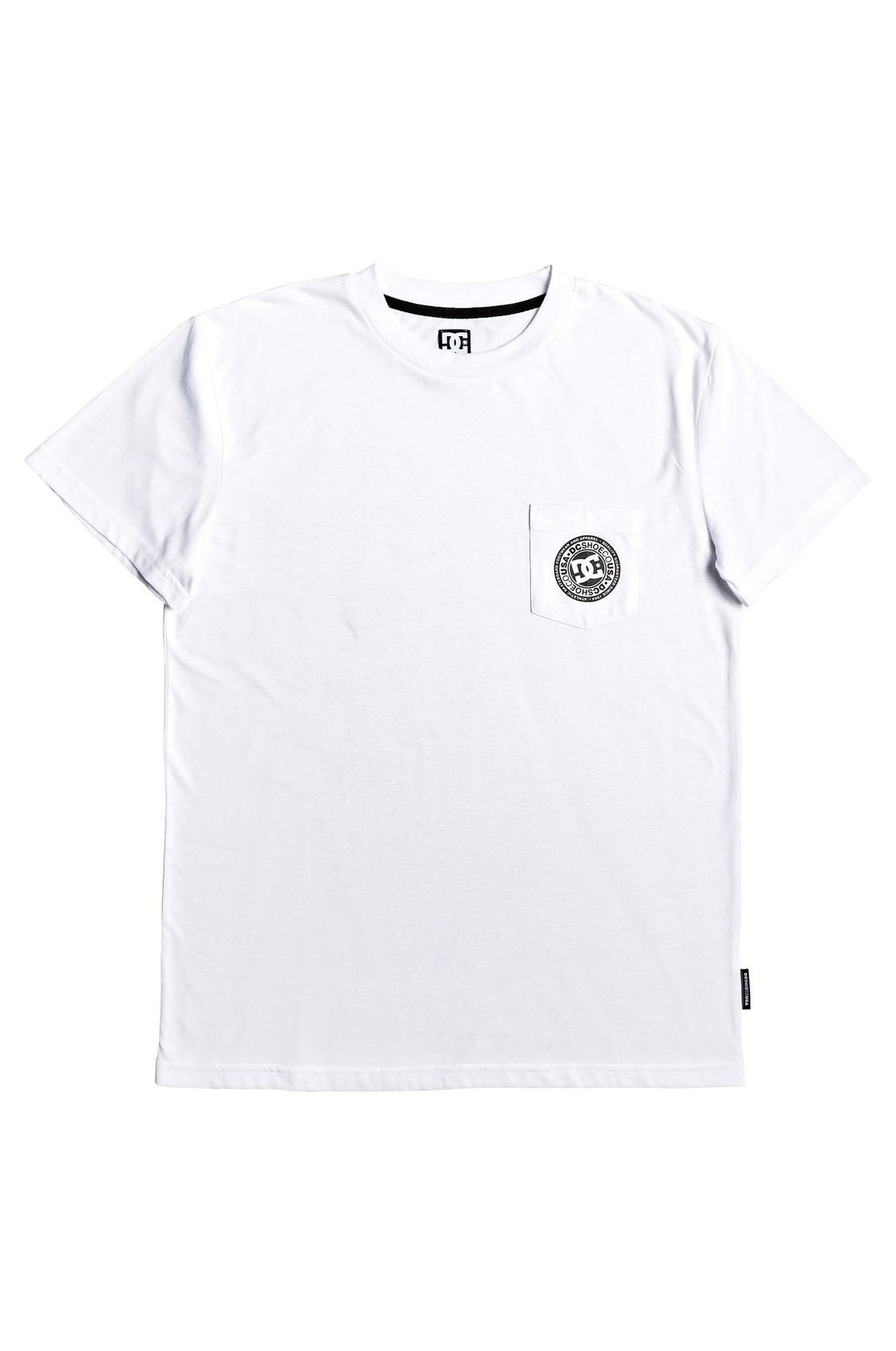 T-Shirt DC Shoes BASIC POCKET TEE 4 Snow White