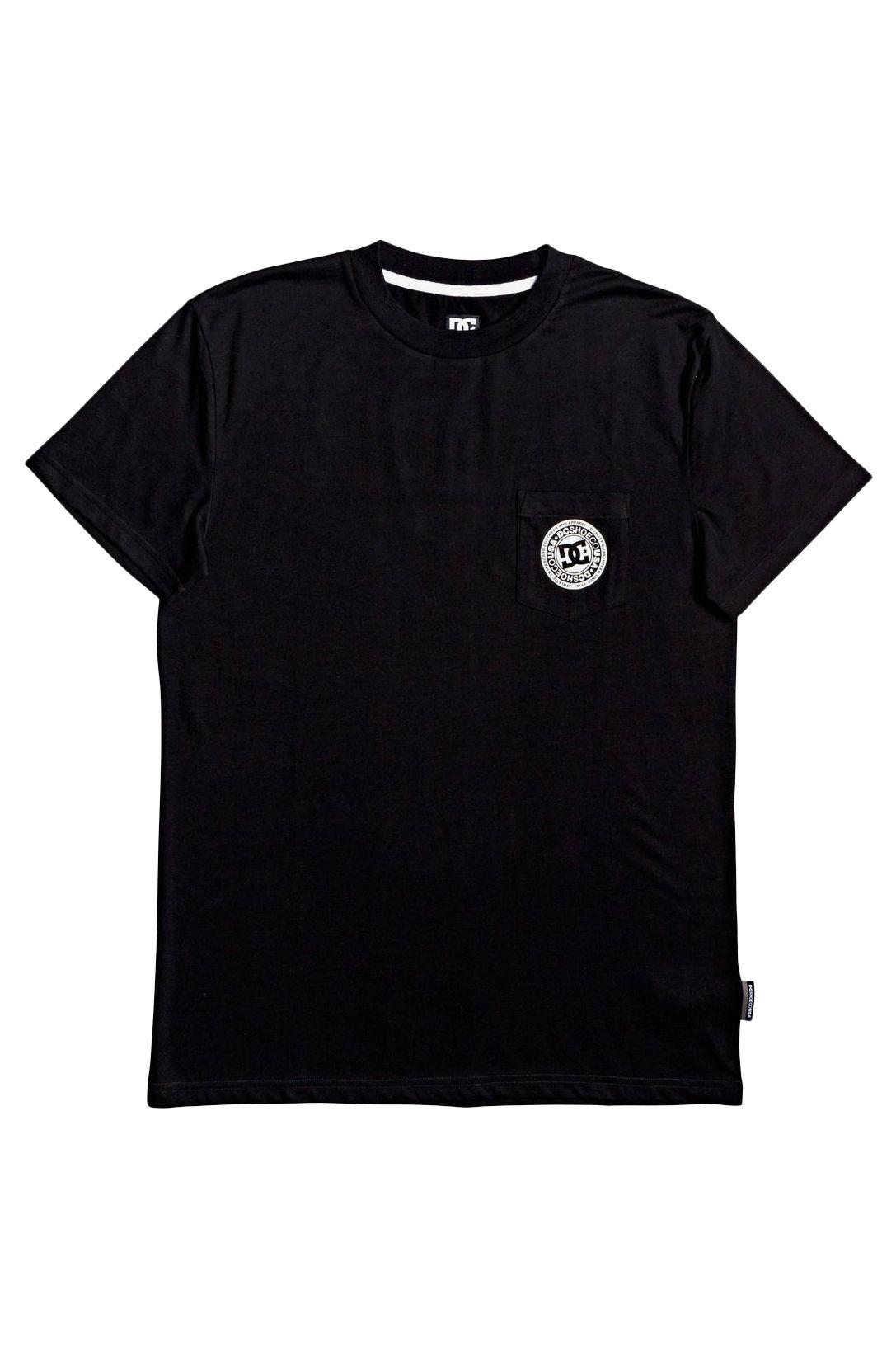 T-Shirt DC Shoes BASIC POCKET TEE 4 Black