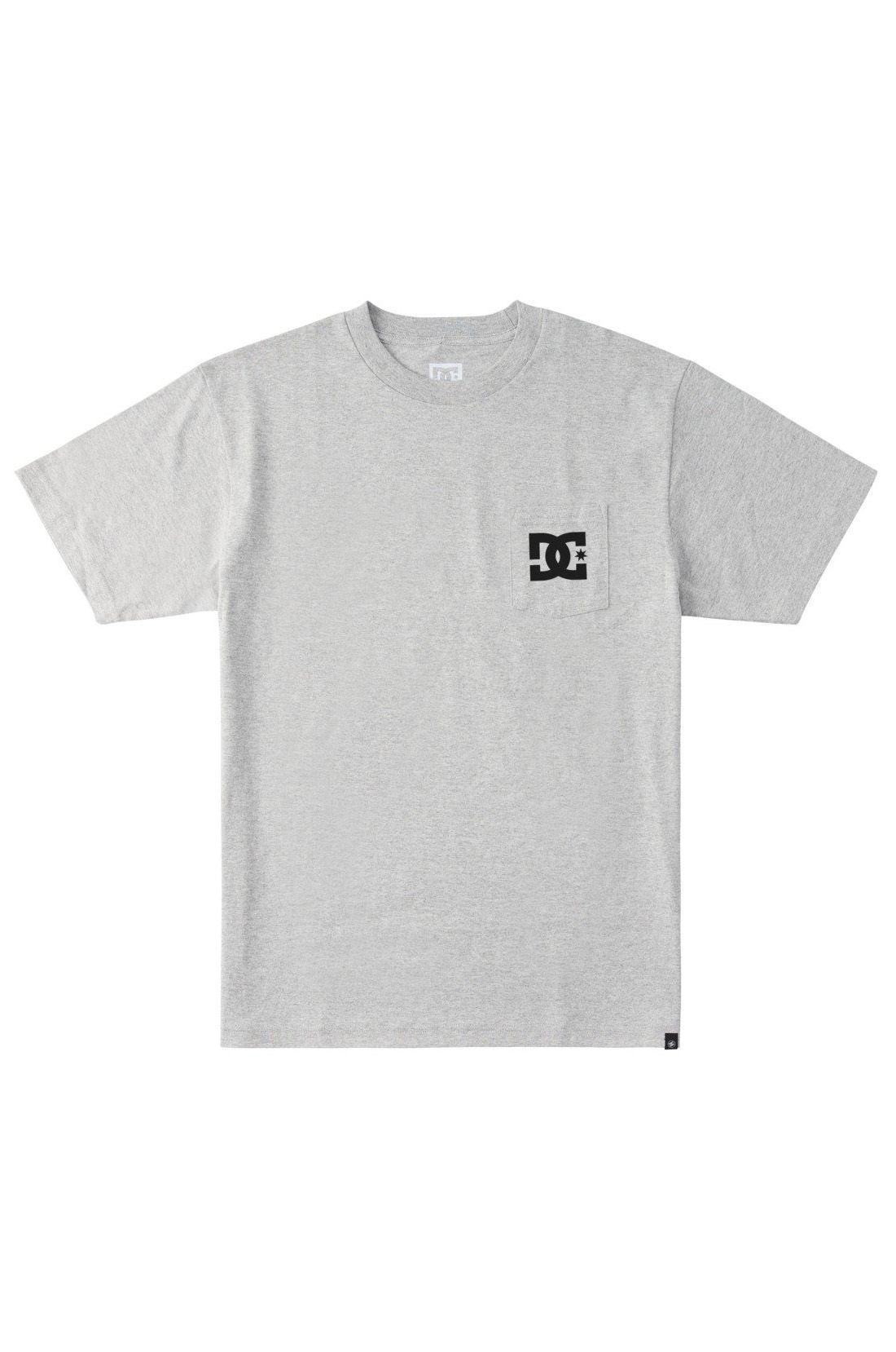 T-Shirt DC Shoes STAR POCKET HSS Heather Grey