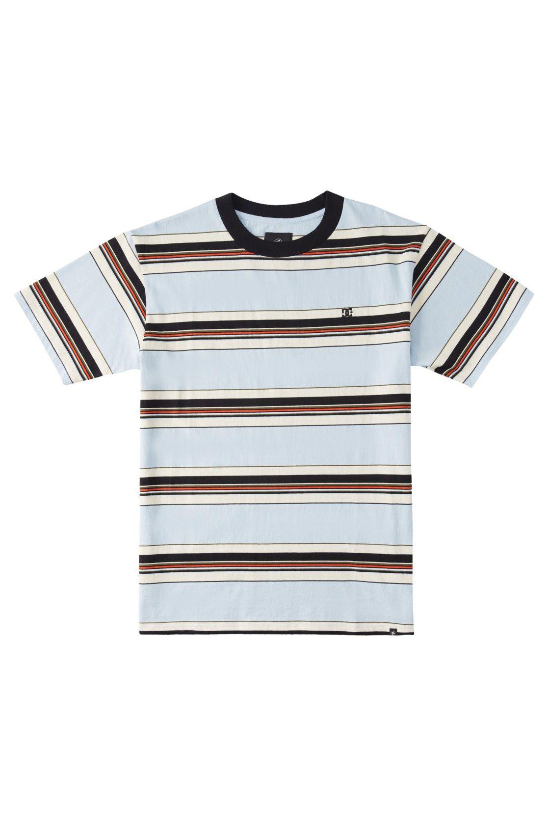 T-Shirt DC Shoes BULLY STRIPE TEE Skyway Stripe