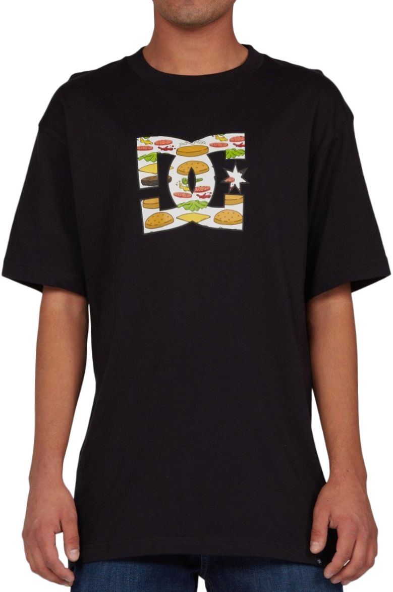 T-Shirt DC Shoes BURGER FILL HSS M BOB'S BURGERS Black