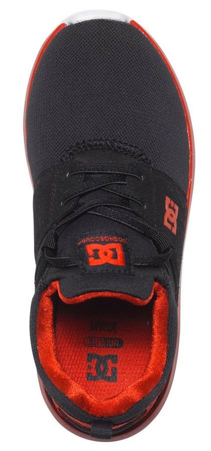 Tenis DC Shoes HEATHROW Black/Red