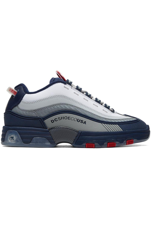Tenis DC Shoes LEGACY OG Navy/Red