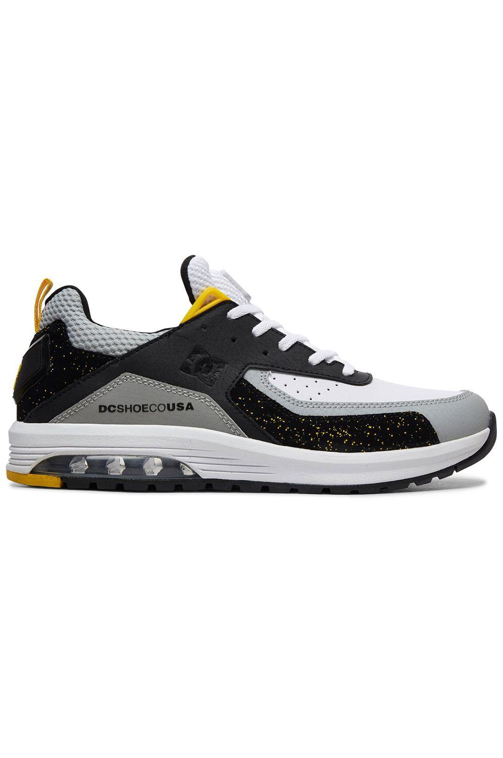 c7d1ac6f005 Tenis DC Shoes VANDIUM SE BLACK GREY YELLOW