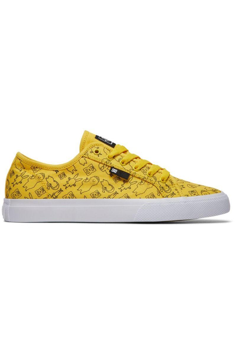 Tenis DC Shoes BOBS MANUAL M BOB'S BURGERS Mustard