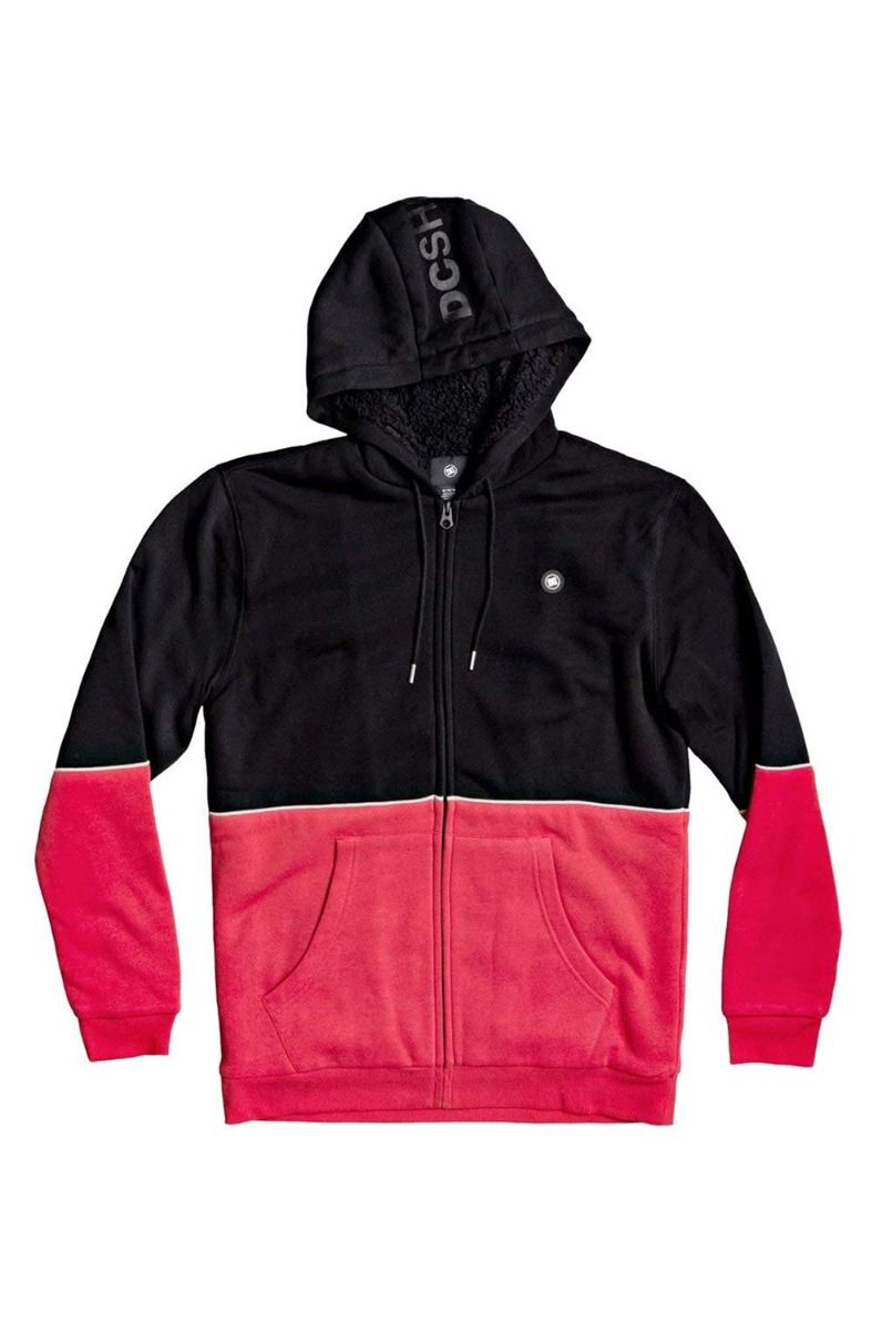 Sweat Fecho DC Shoes STUDLEY SHERPA 203 Black