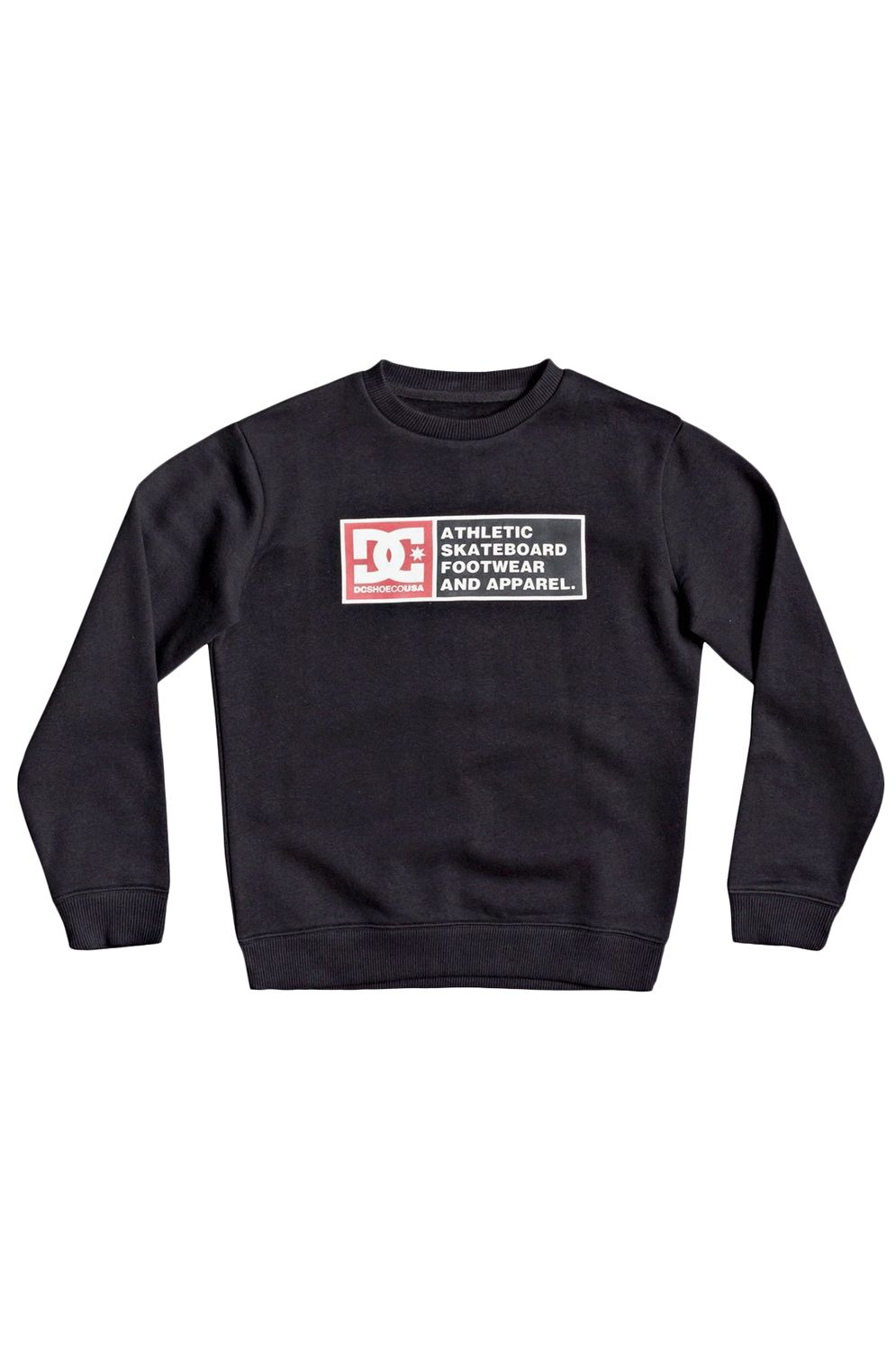 Sweat Basica DC Shoes DENSITY ZONE BOY Black