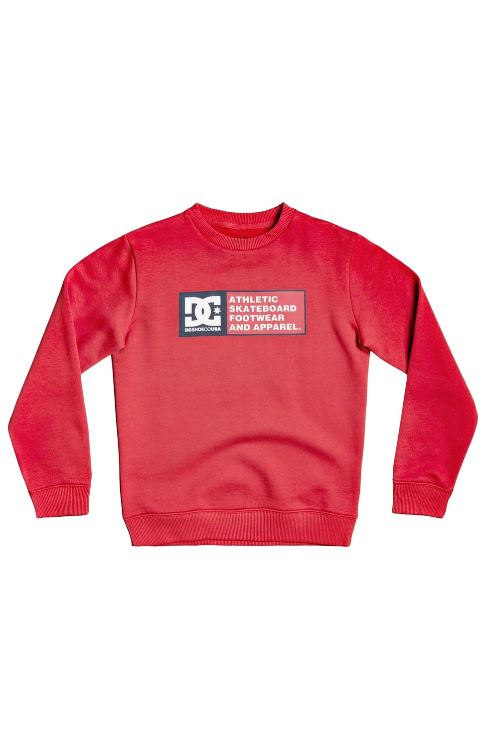 Sweat Basica DC Shoes DENSITY ZONE BOY Racing Red