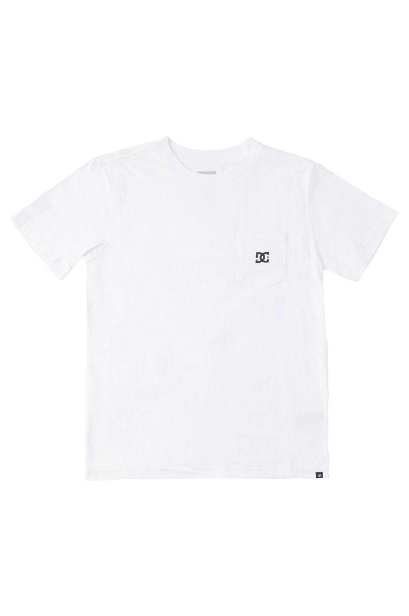 T-Shirt DC Shoes STAR POCKET SS BOY White