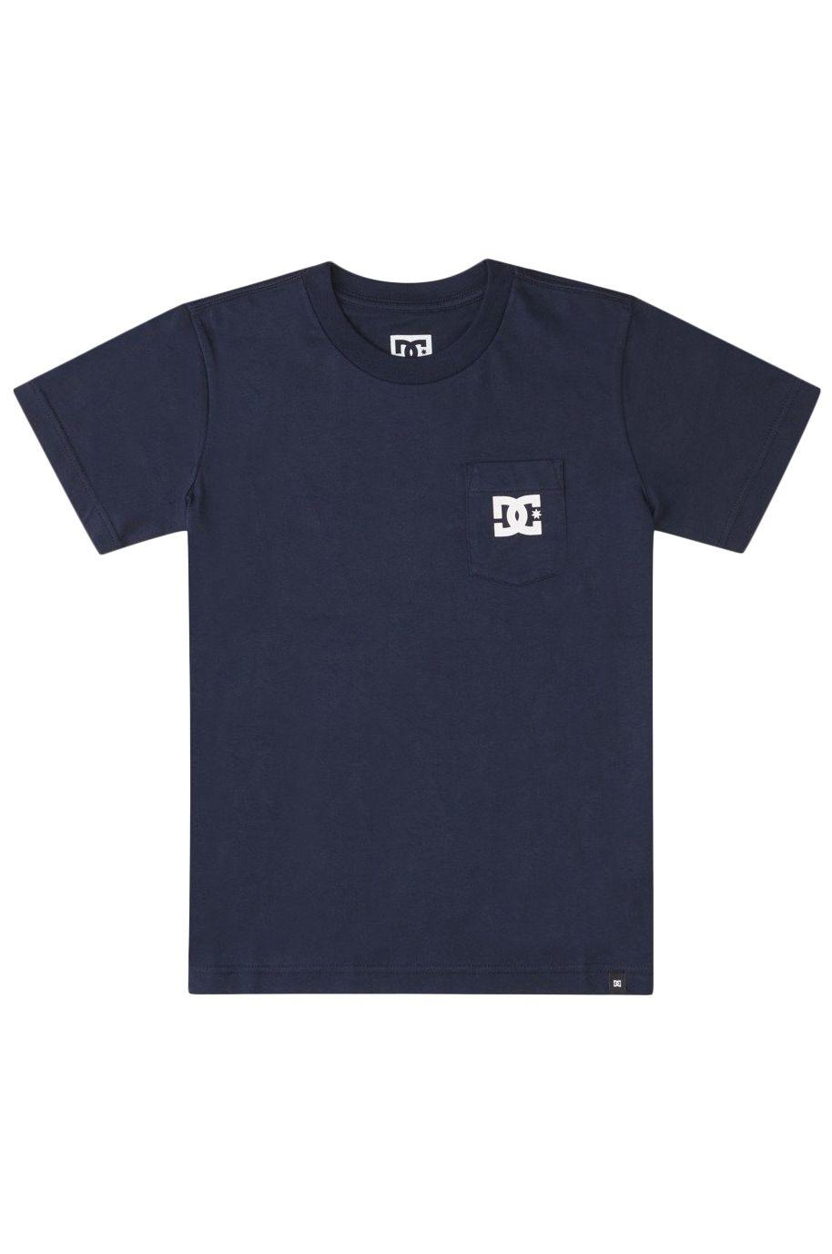 DC Shoes T-Shirt DC STAR POCKET SS BOY Navy Blazer