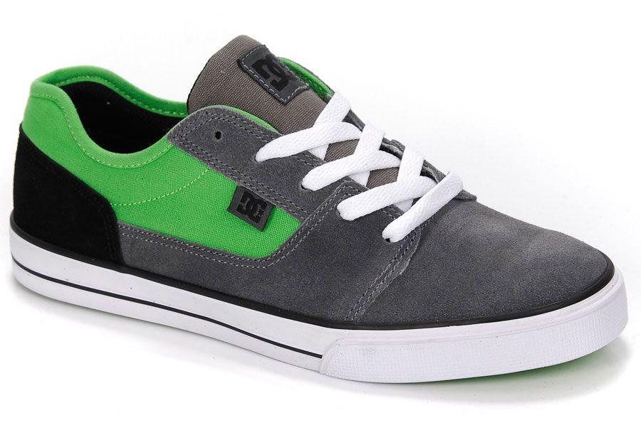 Tenis DC Shoes TONIK Grey/Black/Green
