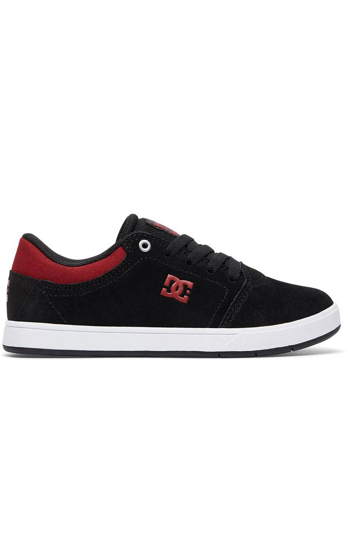 Tenis DC Shoes CRISIS B SHOE Black/Dark Red