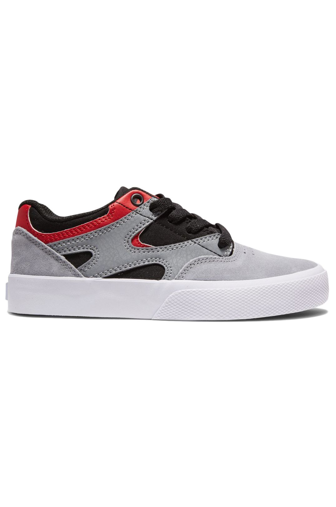 Tenis DC Shoes KALIS VULC Black/Grey/Red