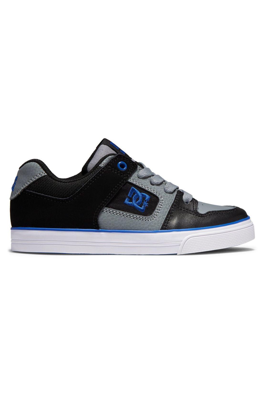 DC Shoes Shoes PURE Black/Grey/Blue