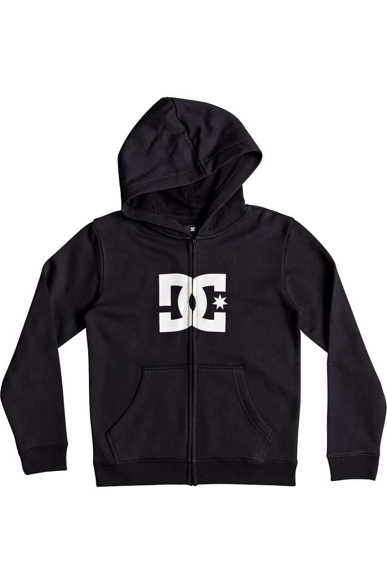 DC Shoes Sweat Zip Hood STAR BOY Black/White
