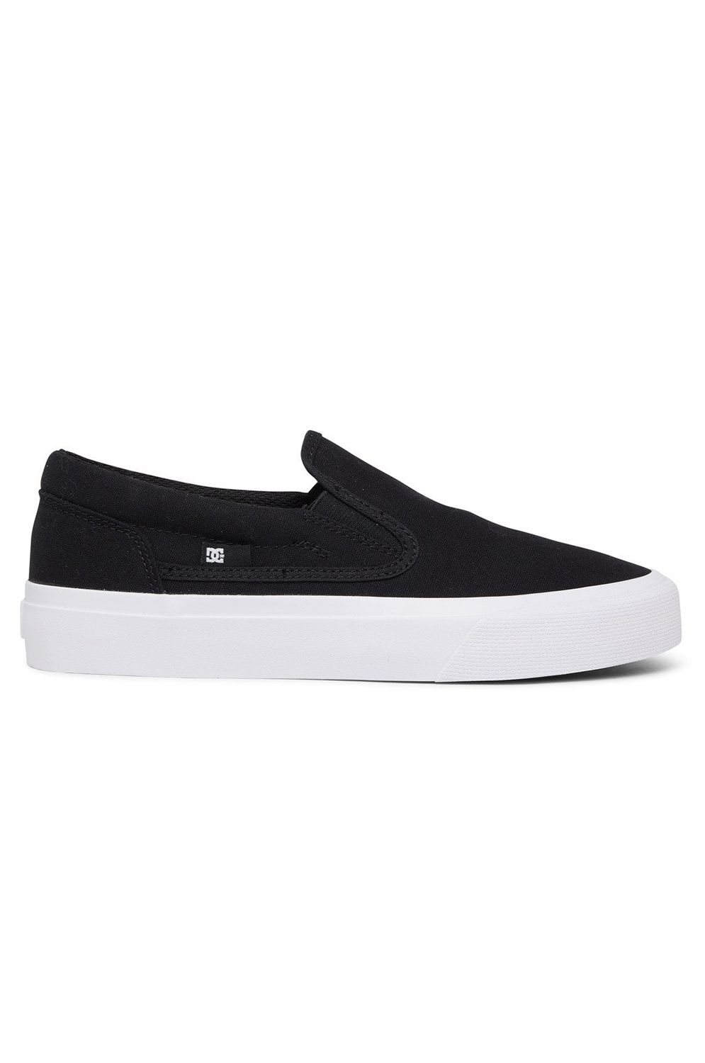Tenis DC Shoes TRASE SLIP Black/White