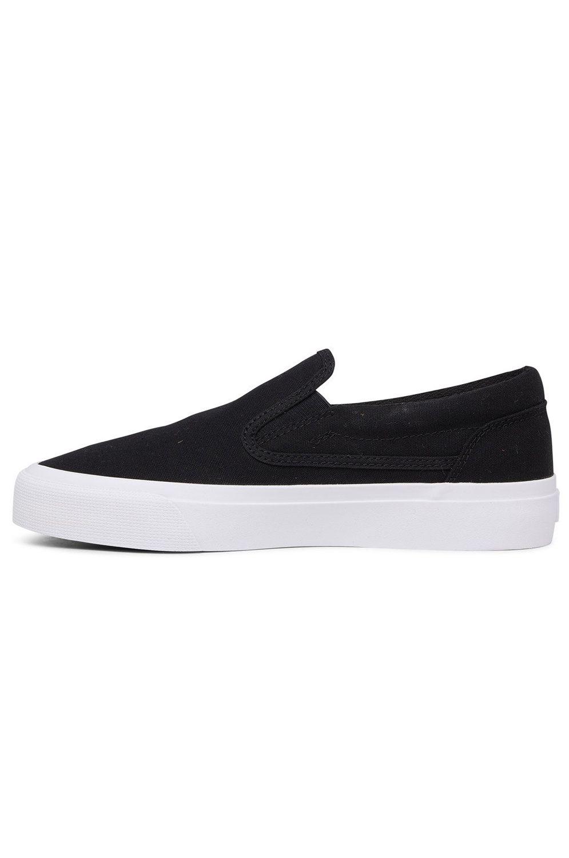 Tenis DC Shoes TRASE SLIP Black/White