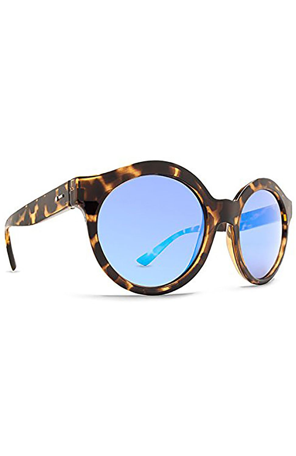 Oculos Dot Dash HUSH Tortoise / Ice Blue Chrome