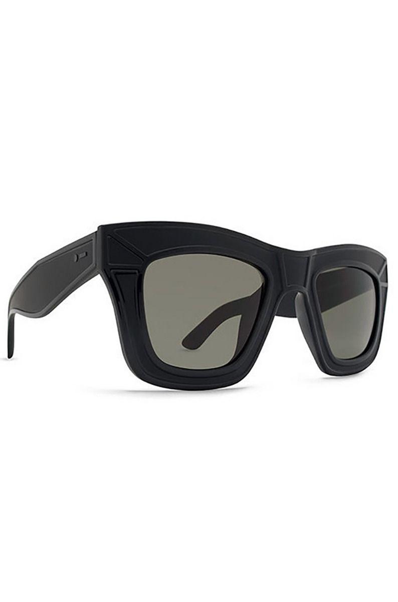 Dot Dash Sunglasses HACKTAVIST - BLACK SATIN / RETRO GREY Black Satin/ Grey