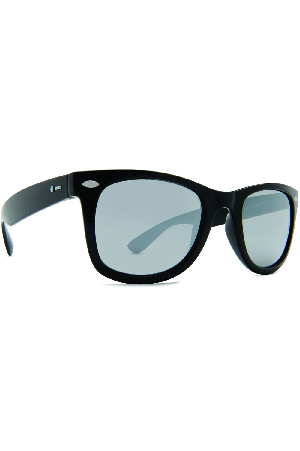 Oculos Dot Dash PLIMSOUL Black Gloss / Silver Chrome