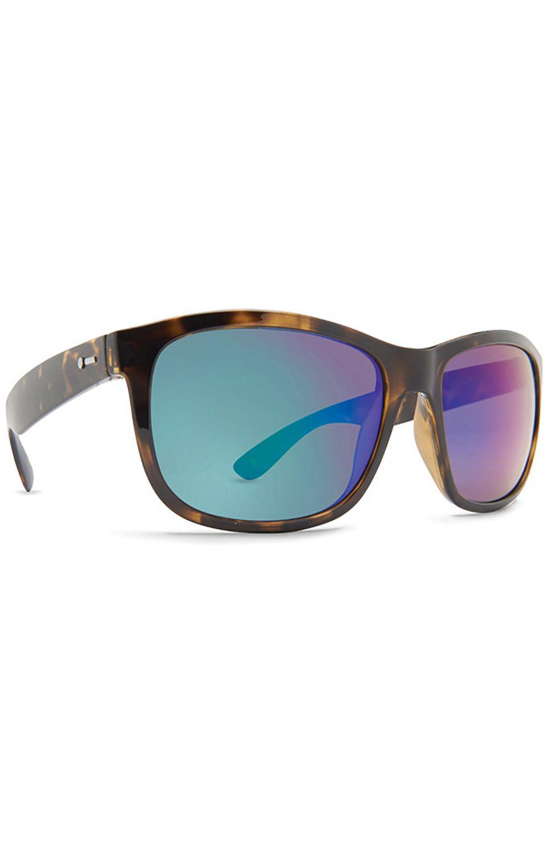 Dot Dash Sunglasses POSEUR Tort Gloss / Green Chrome