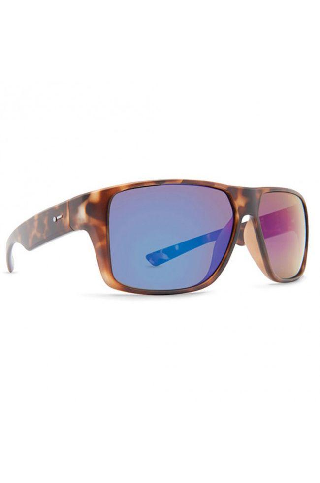 Dot Dash Sunglasses TURBO Tort Satin / Green Chrome