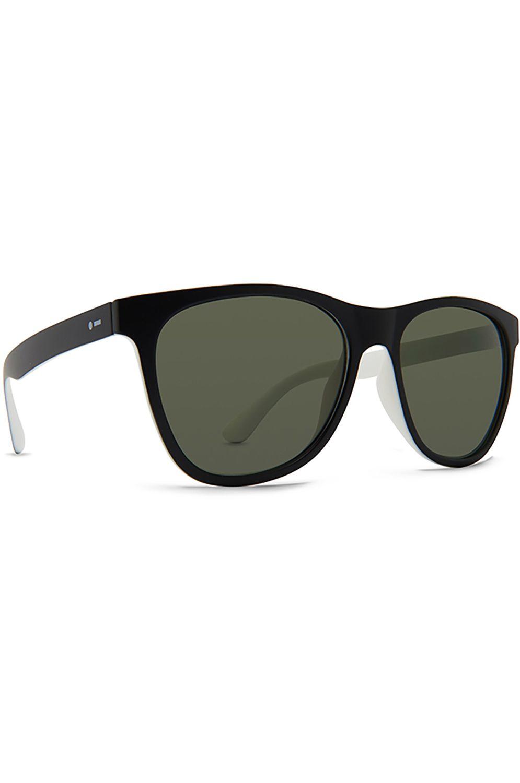 Oculos Dot Dash COOLIDGE Black White Satin / Vintage Grey