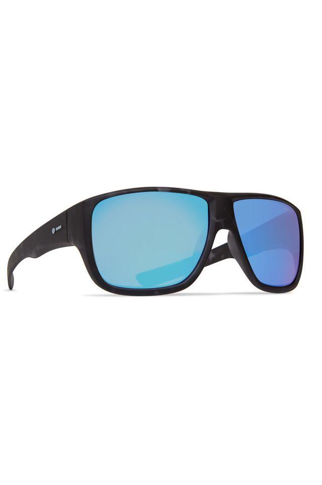 Dot Dash Sunglasses APERTURE Midnight Tort / Aqua Chrome