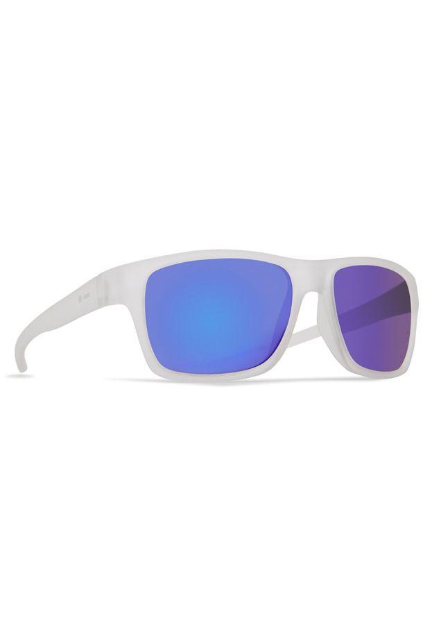 Dot Dash Sunglasses FUTUREMAN Frosted Satin / Blue Chrome