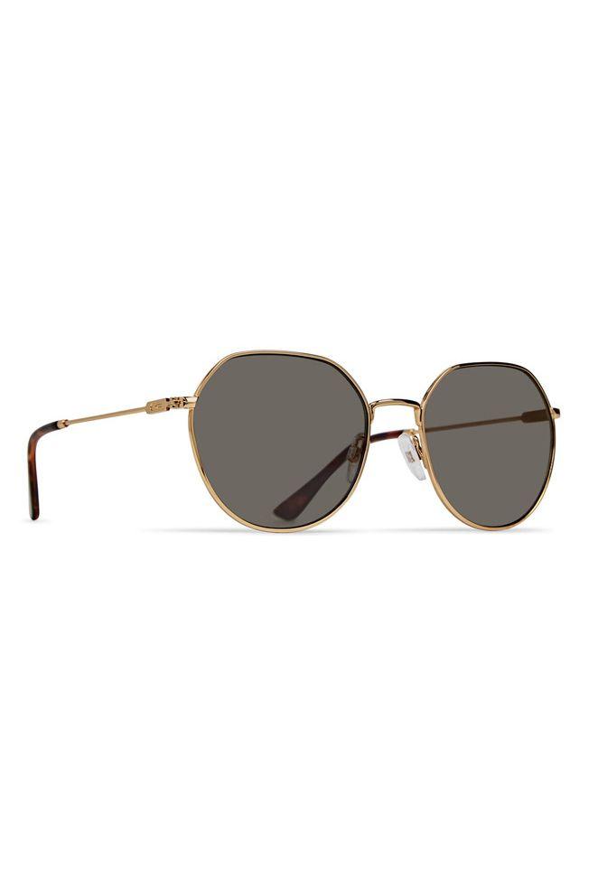 Dot Dash Sunglasses JITTERS Gold Tortoise / Vintage Grey
