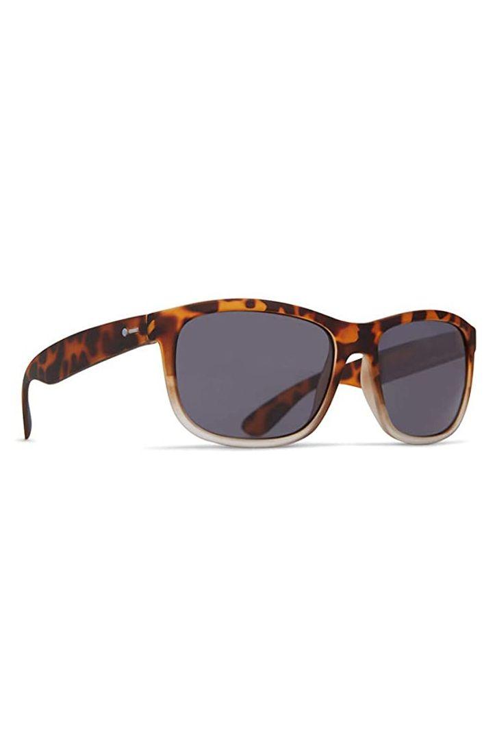 Dot Dash Sunglasses POSEUR Leopard Tort Satin / Grey