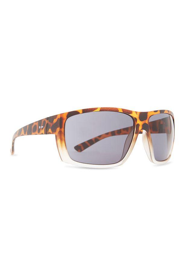 Dot Dash Sunglasses SHIZZ Leopard Tort Satin / Grey