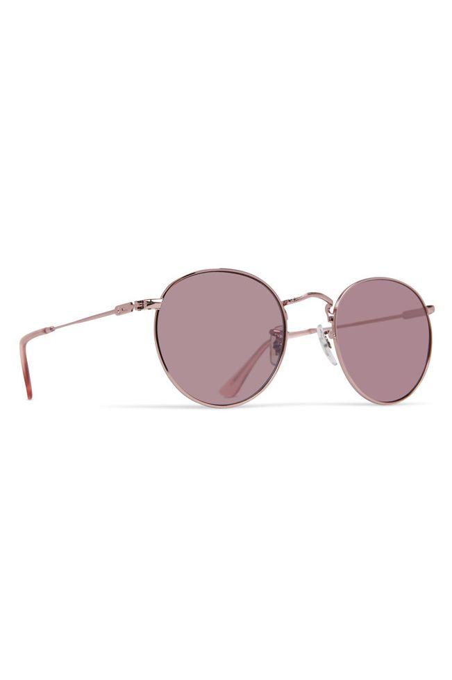 Dot Dash Sunglasses VELVATINA Rose Gold / Rose