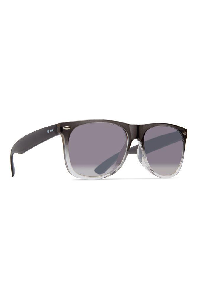 Dot Dash Sunglasses KERFUFFLE Translucent Grey Fade / Grey Gradient Silver Flash