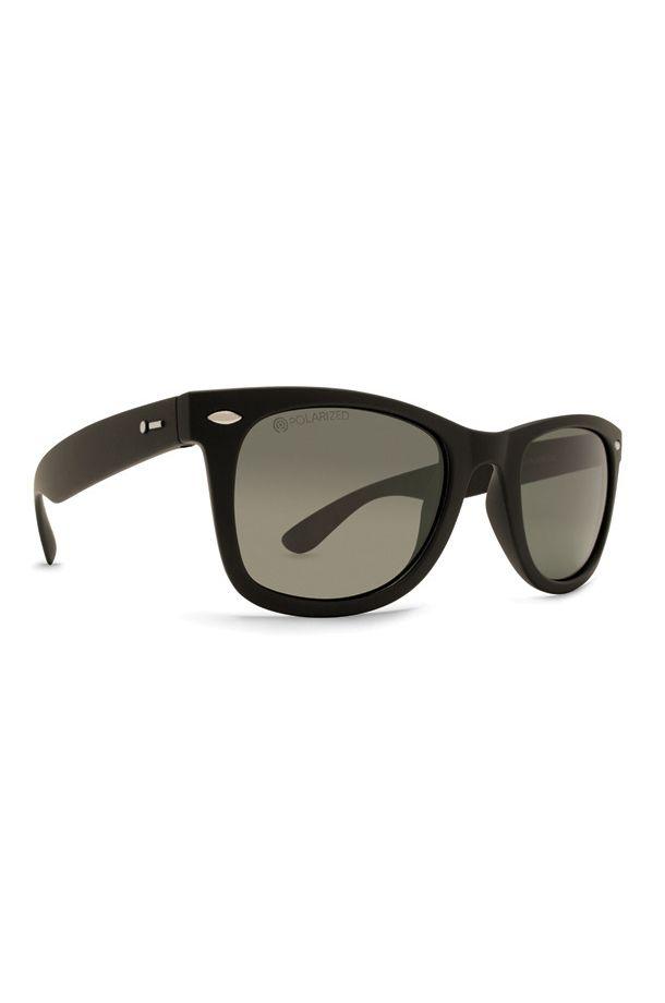 Dot Dash Sunglasses PLIMSOUL Blk Satin / Grey Polar