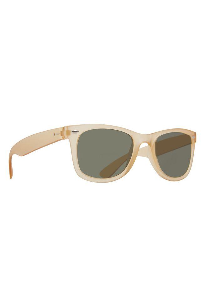 Dot Dash Sunglasses PLIMSOUL Cream Soda Satin / Vintage Grey