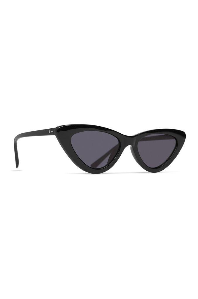 Dot Dash Sunglasses FABULIST Black Gloss / Grey