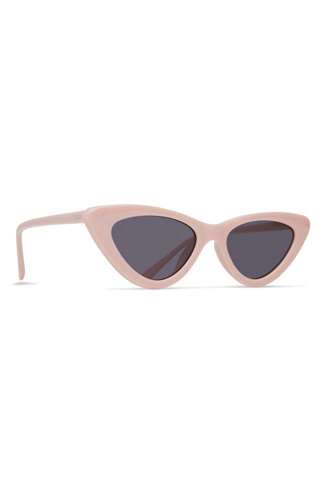 Dot Dash Sunglasses FABULIST Caddy Pink / Grey