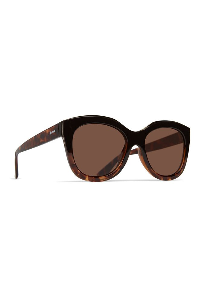 Dot Dash Sunglasses MYSTERIA Espresso Tort Fade / Bronze