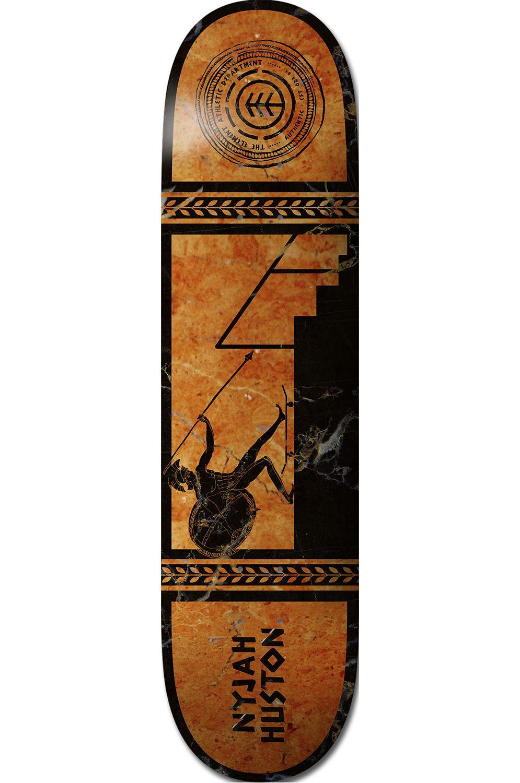 "Element Skate Board 8.1"" GREEK GODS NYJAH Assorted"