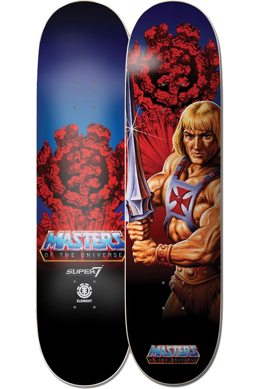 """Element Skate Board 8.25"""" HE-MAN MASTERS OF THE UNIVERSE Assorted"""