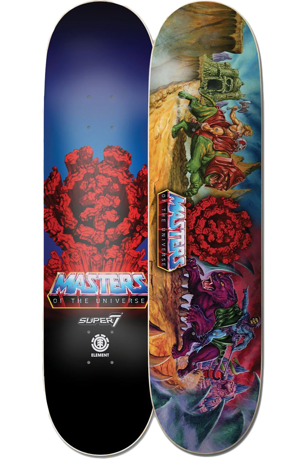 """Element Skate Board 8.25"""" BATTLE MASTERS OF THE UNIVERSE Assorted"""