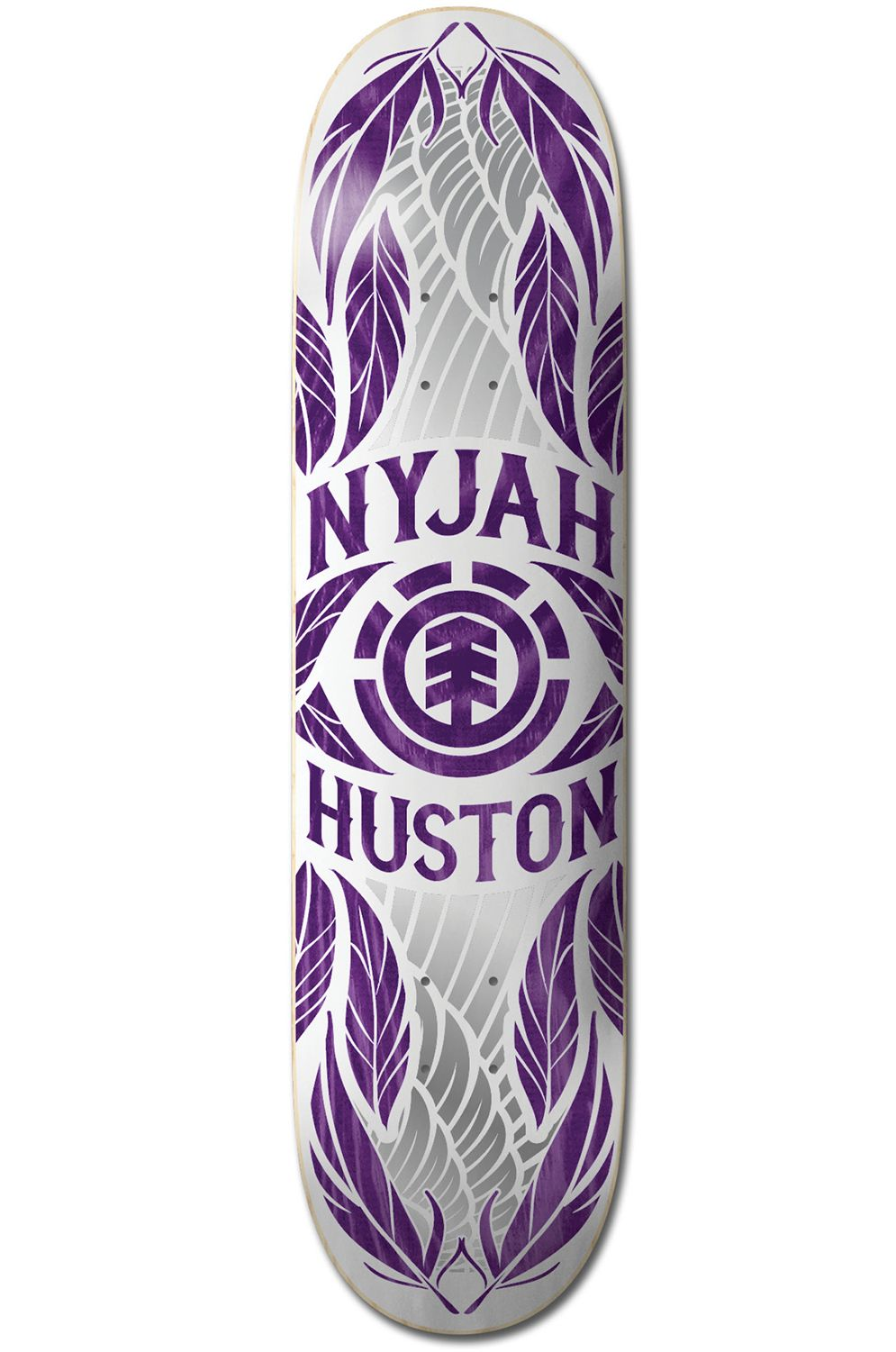 "Element Skate Board 8"" NYJAH FEATHERS PURPLE Assorted"