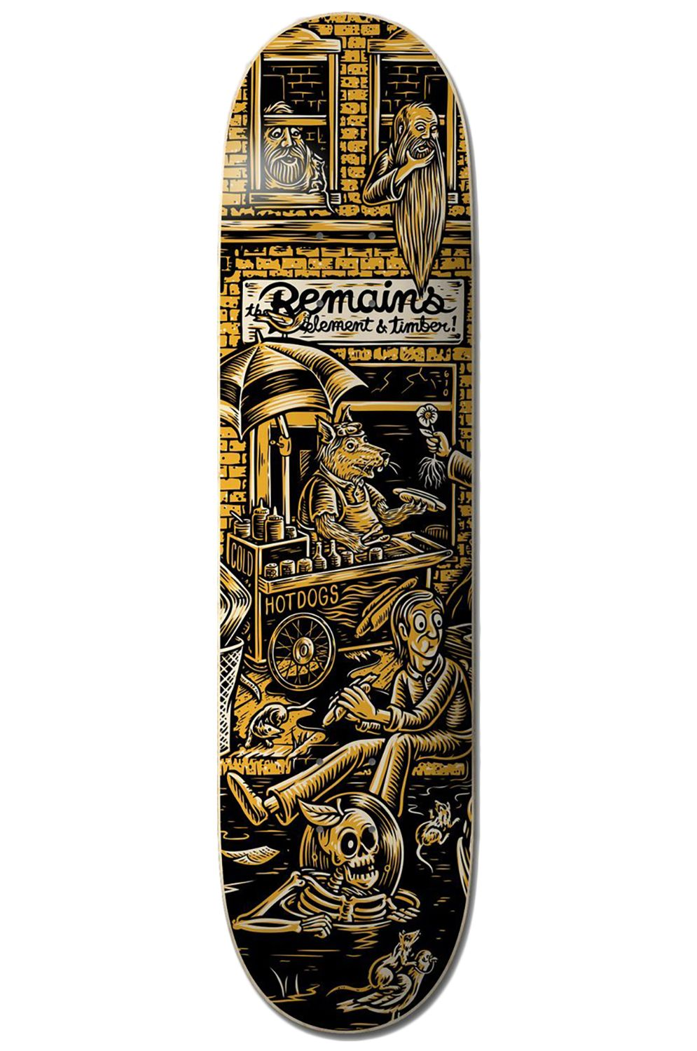 """Element Skate Board 8.25"""" TIMBER REMAINS TIMBER COLLECTION Assorted"""