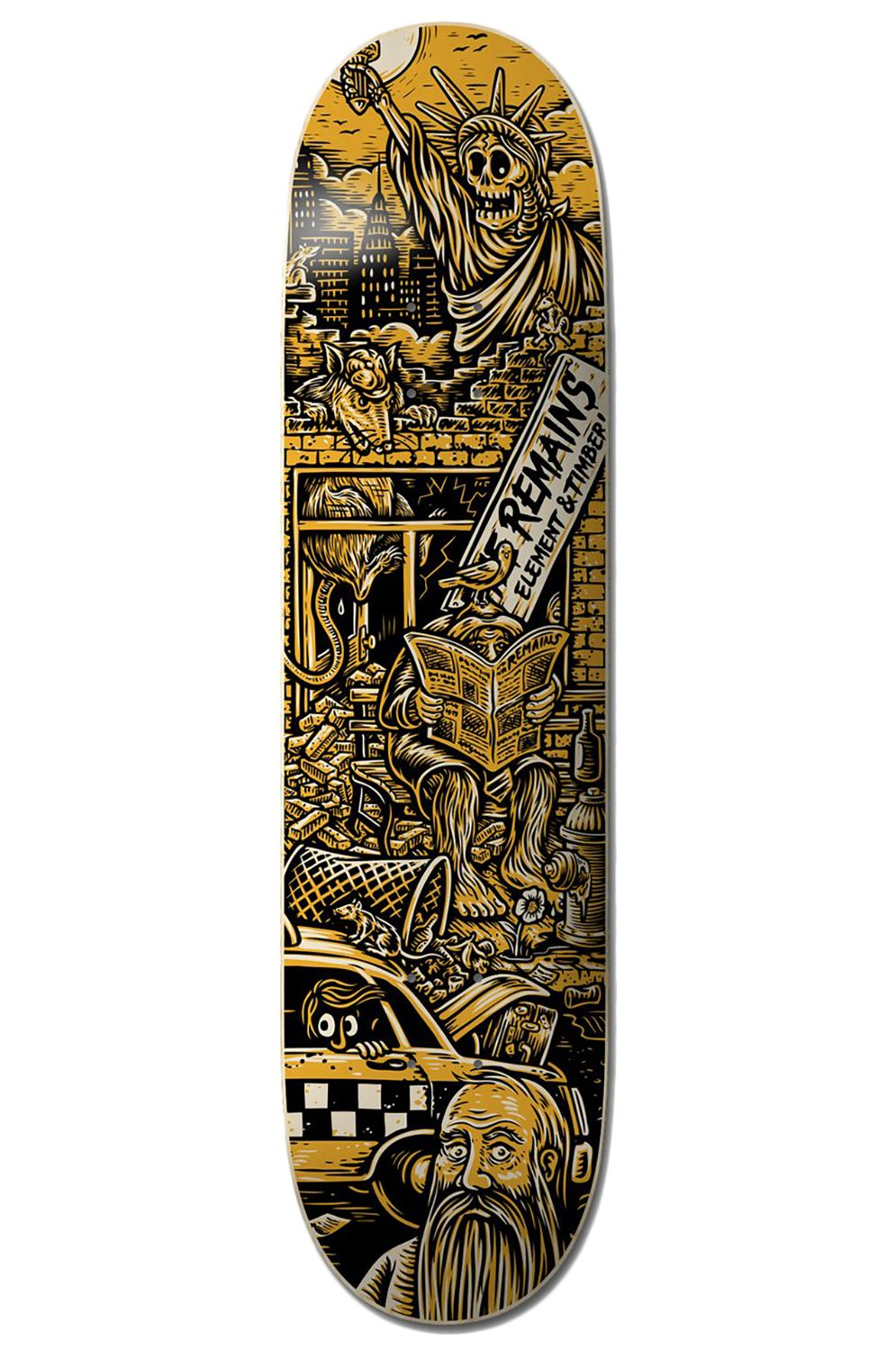 """Element Skate Board 8.38"""" TIMBER REMAINS TIMBER COLLECTION Assorted"""