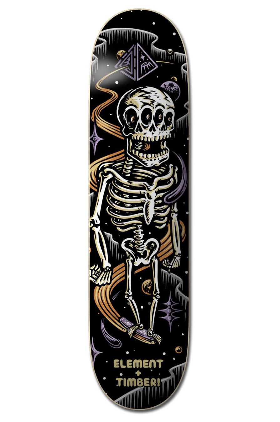 """Element Skate Board 8"""" TIMBER SKELETON TIMBER COLLECTION Assorted"""
