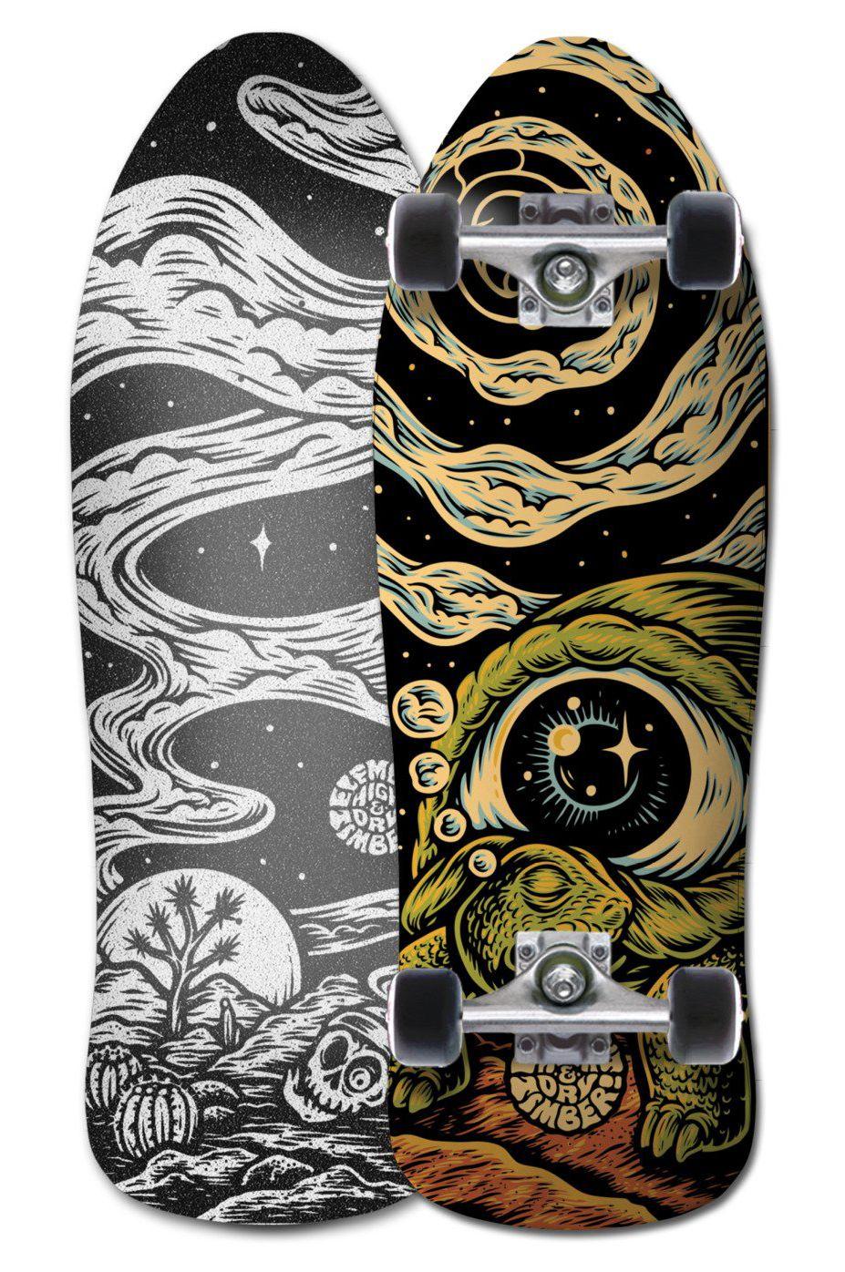 "Element Surf Skate 8.75"" TIMBER HIGH DR Assorted"