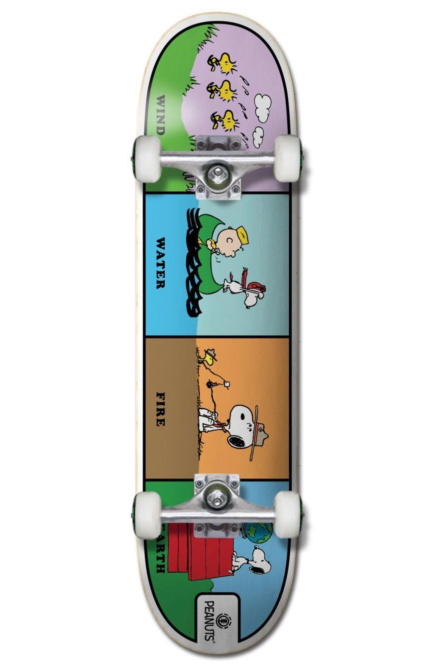 "Element Skate 8"" PEANUTS WIND WATE Assorted"