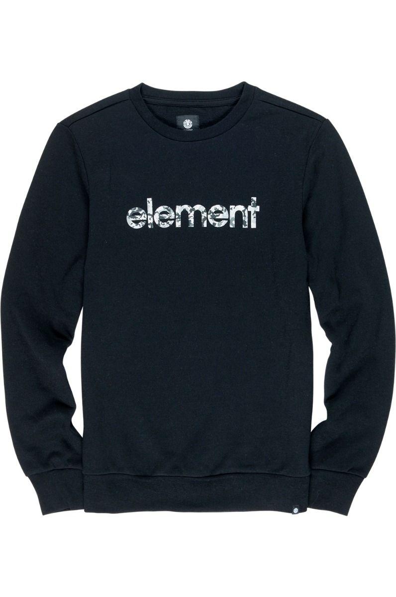 Element Crew Sweat VERSE Flint Black